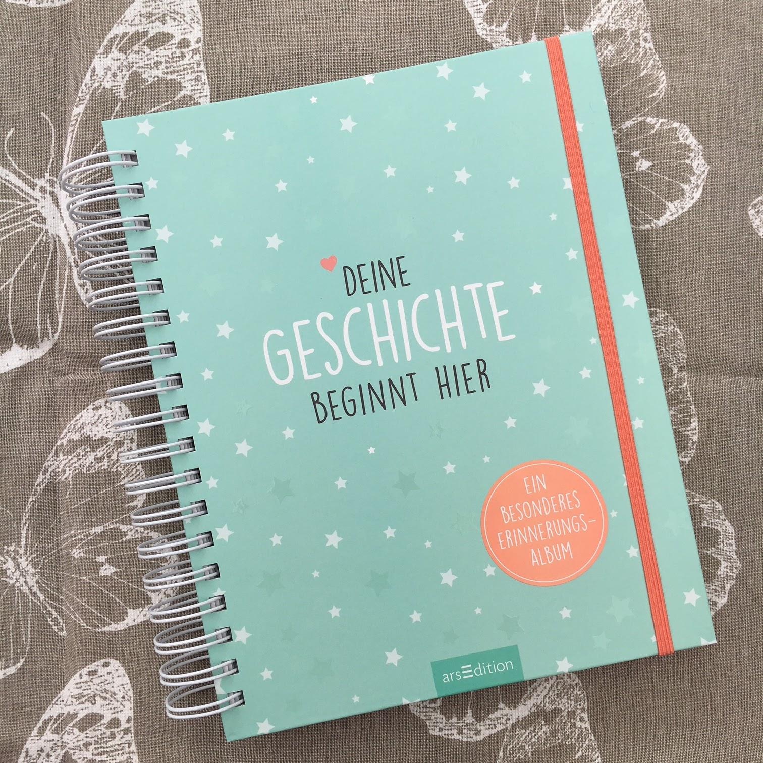 Deine Geschichte beginnt hier Ein Erinnerungsalbum und wundersch/önes Geschenk zur Geburt