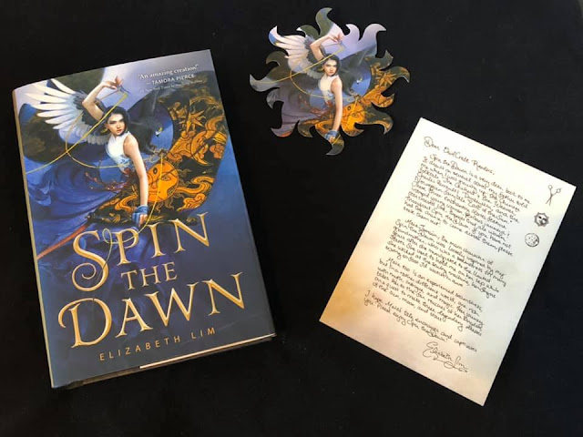 #spinthedawnbook #owlcrate