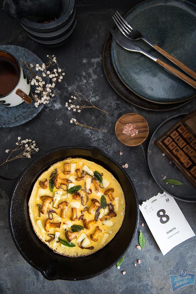 Kurki omlet przepis