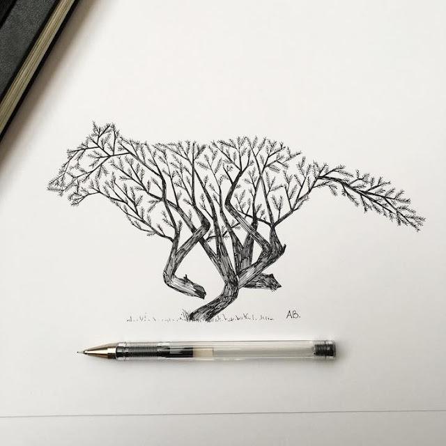 رسومات بالقلم الرصاص