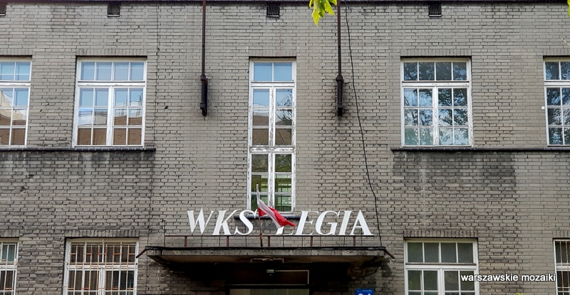 Warszawa Warsaw osiedle oficerów Wojska Polskiego Fort Bema architektura wojskowe  Legia