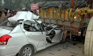 8-died-in-two-road-accident-ramgadh-jharkhand