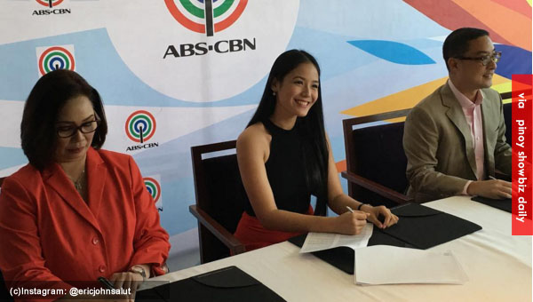TV5 talent Ritz Azul is now a kapamilya; signs contract with ABS-CBN