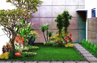 Cara Membuat Taman Minimalis Modern lahan sempit