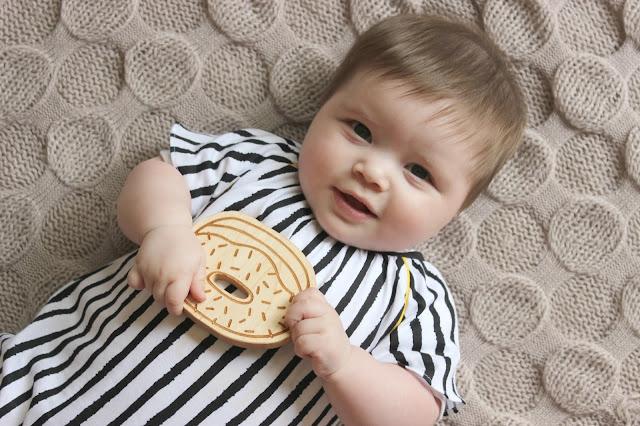 Mothercare Baby K Stripe Romper