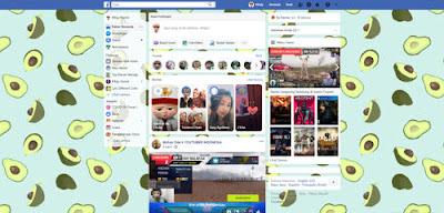 Cara Ganti Background Facebook
