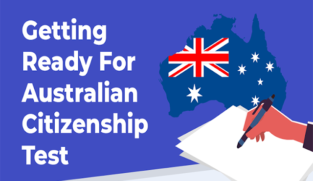 Getting Ready For Australian Citizenship Test #infographic