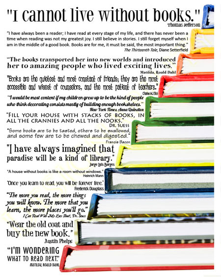 quotes about books - photo #11