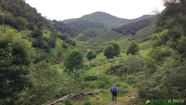 Entrada en el Valle de Xulió