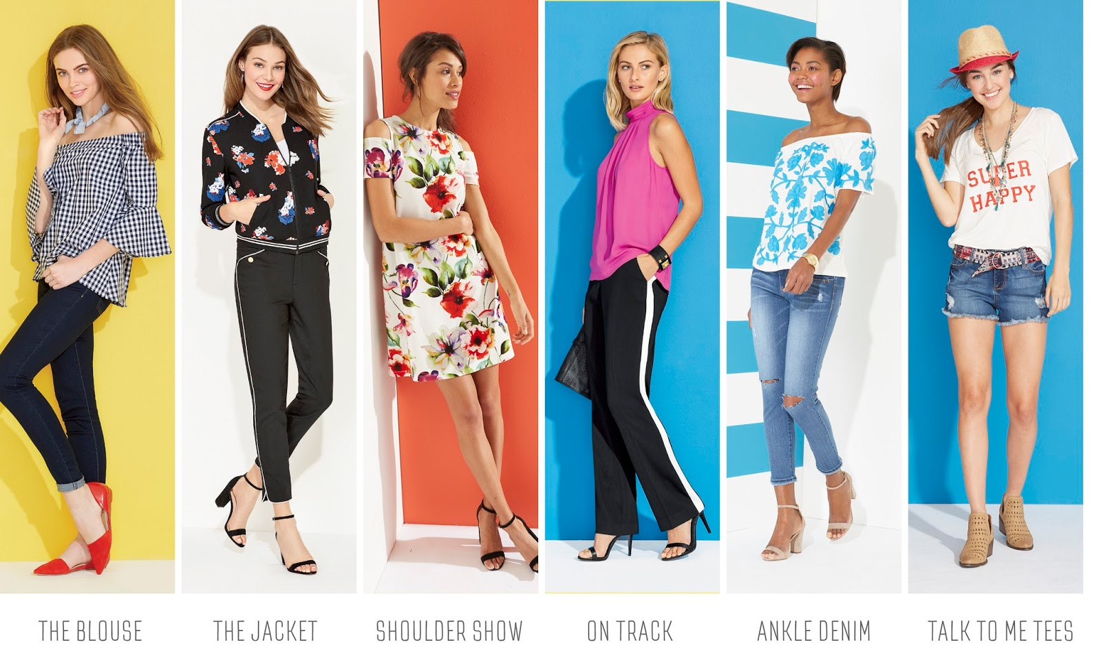 Freshen Up Your Wardrobe with Herberger\'s New & Now Spring Trends ...