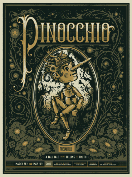 WIN a Pair of Tickets ($100 value/2 winners) to Pinocchio WORLD PREMIERE at THE HOUSE THEATRE
