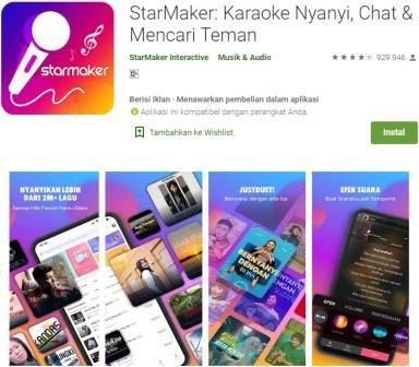 StarMaker - Karaoke Nyanyi, Chat dan Mencari Teman