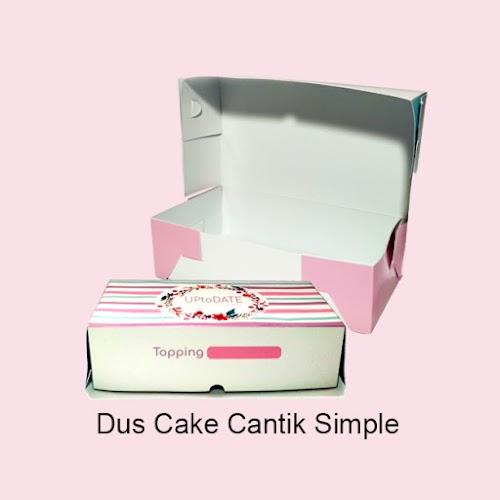 Cetak Dus Cake Cantik Simple