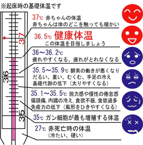体温 が 低い 理由 「平熱が低い」は何度から?体温を上げる生活習慣とは