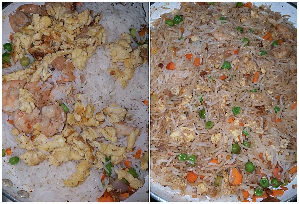 steps to make better than takeout shrimp fried rice