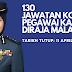 130 pengambilan JABATAN KASTAM DIRAJA MALAYSIA. Hari ini hari terakhir memohon