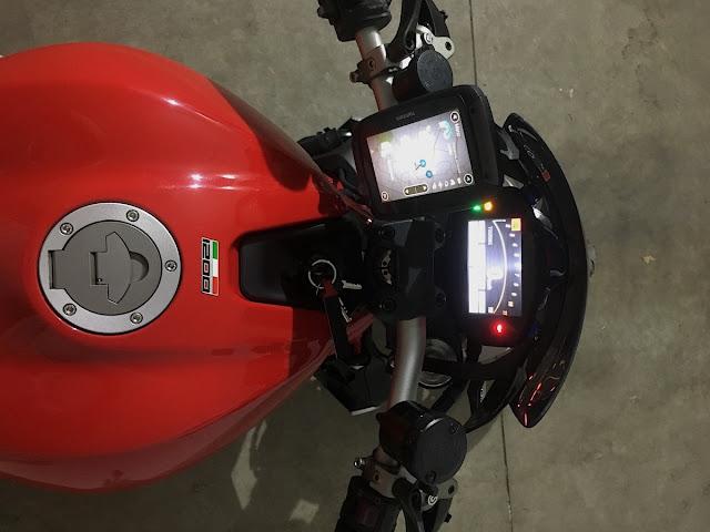 tom tom rider 550 navigatore impermeabile moto