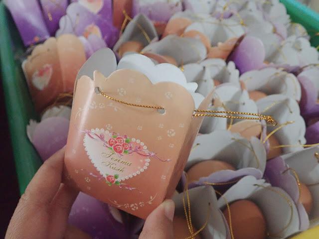 bunga telor souvenir pernikahan malaysia