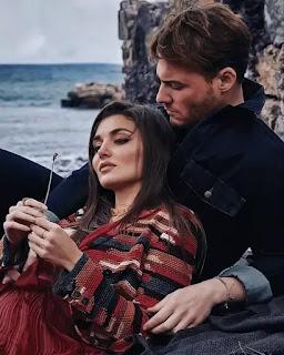 There is someone behind Hande Erçel and Kerem Bursin closeness.
