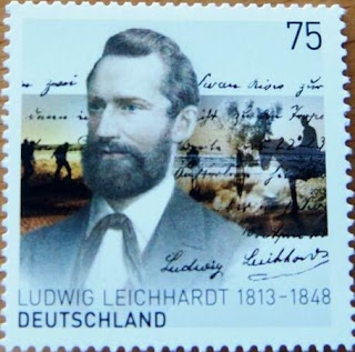 Germany 2013 Joint Issue With Australia Ludwig Leichhardt