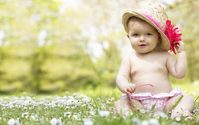 cute indian traditional girl baby images