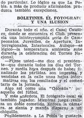 Crónica de Fernando Isaac Fernández en el diario Madrid sobre el III Torneo Nacional de Ajedrez de La Pobla de Lillet 1957 (5)