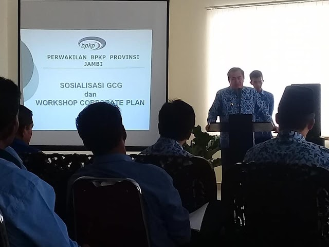 Gandeng BPKP,  PDAM Tirta Khayangan Gelar Workshop Corporate Plan
