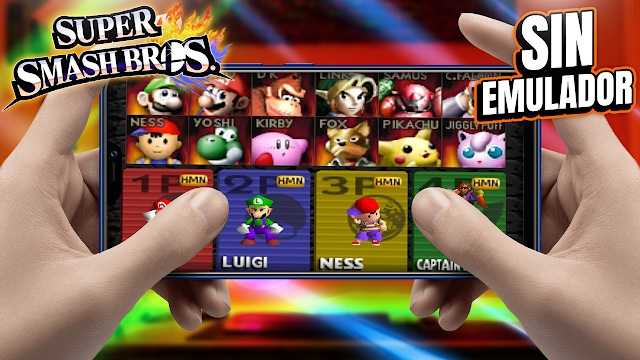 Super Smash Bros Sin Emulador Para Teléfonos Android (Apk)