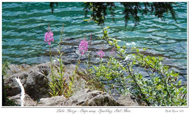 Lake George: Steps away. Sparkling. Still Here.