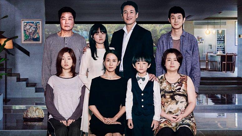 korean movie international award received Parasite