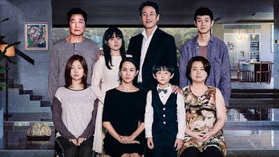 korean movie international award received Parasite