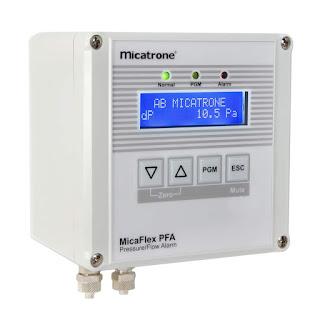 Differential pressure sensor Micatrone Micaflex PFC ver 3, Cảm biến chênh áp, Micatrone Vietnam