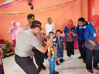 TK Kemala Bhayangkara 23 Lumajang Dilengkapi Taman Lalu Lintas