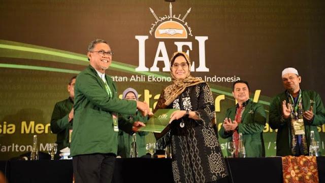 Menkeu Sri Mulyani Ditunjuk Jadi Ketua Ikatan Ahli Ekonomi Islam Indonesia
