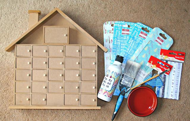 diy wooden advent calendar bakes books and my boys. Black Bedroom Furniture Sets. Home Design Ideas