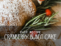 Easy Cranberry Bundt Cake Recipe