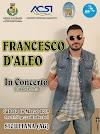 Sabato 16 Marzo 2019 - Francesco D'Aleo in concerto a Siculiana