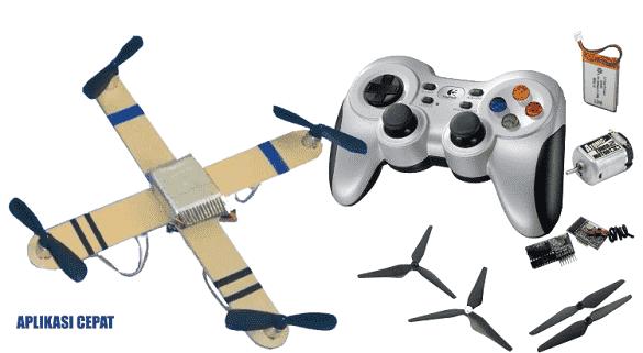 membuat drone sederhana dari dinamo tamiya