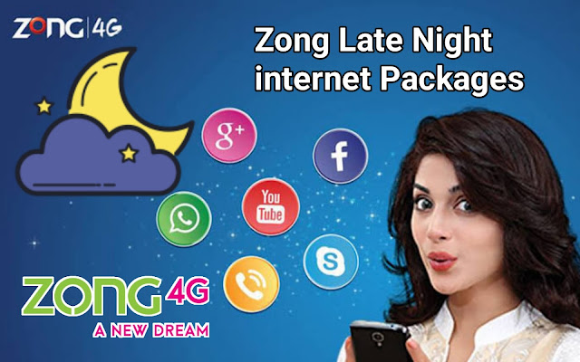 zong late night packages offer