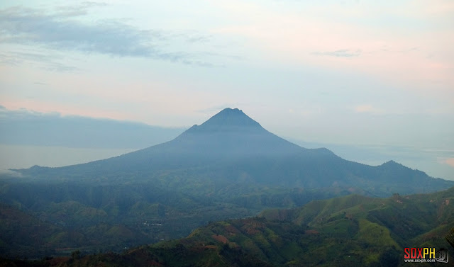 Mt. Matutum as seen from Kalonbarak Skyline Ridge