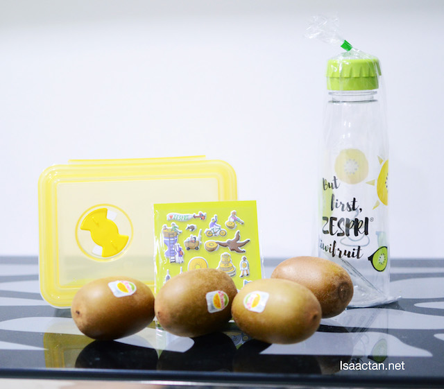 You know you want this limited edition BPA-Free Zespri Water bottle!