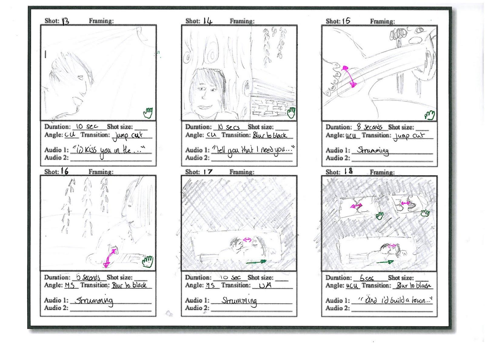 Kenny's Media Blog... Part 2: Initial Storyboard