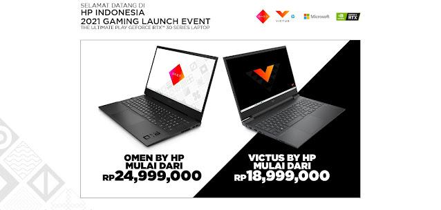 harga laptop gaming hp omen victus
