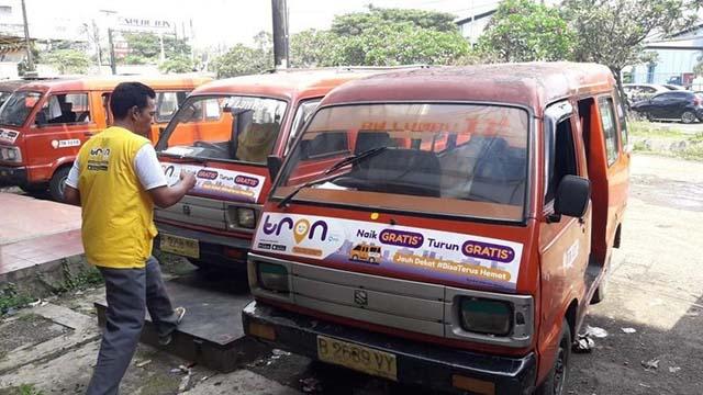 TRON Aplikasi Angkutan Online