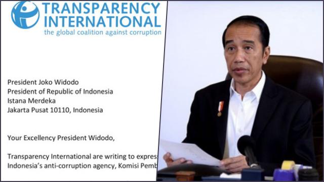 Transparency International Surati Jokowi: Batalkan Pemecatan Pegawai KPK