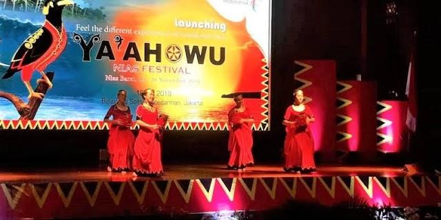 Ya'ahowu Nias Festival 2019 akan digelar di Nias Barat