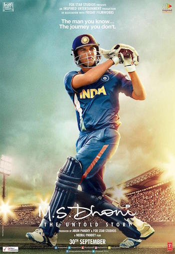 MS Dhoni The Untold Story 2016 Hindi Movie Download