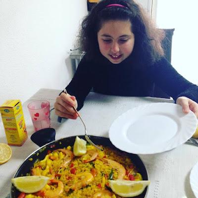 Paella de Pescado, paella, arroz, arroz de pescado, arroz de verduras, blogger alicante, solo yo, blog solo yo, cooking blogger, influencer, quecomemoshoy,