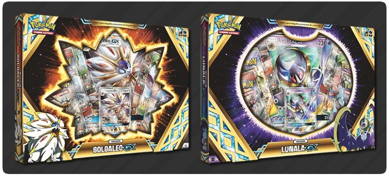 Coleção Solgaleo-GX e Lunala-GX