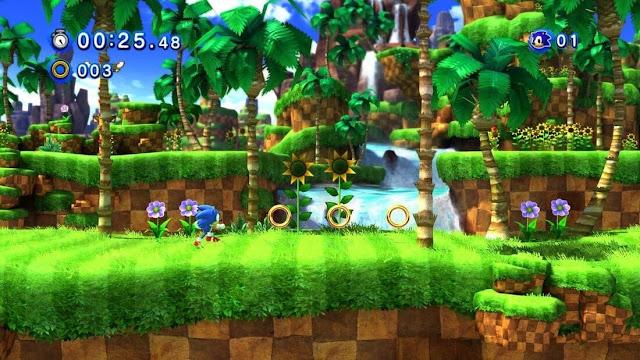 Imagem do Sonic: Generations